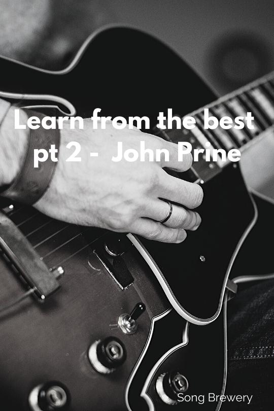 Prine Songwriting Formula